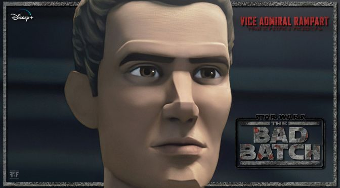 The Bad Batch | Vice Admiral Rampart Character Poster