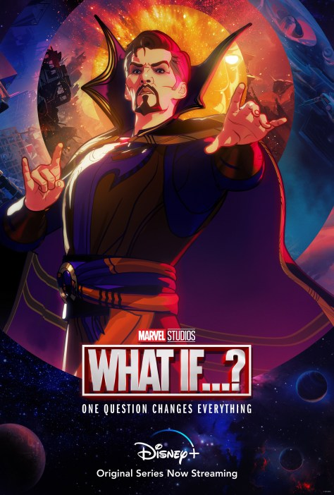 Marvel's What If...? Nick Fury Character Poster