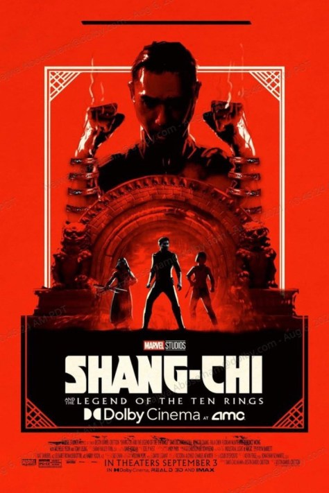 Shang-Chi And The Legend Of The Ten Rings Dolby Poster