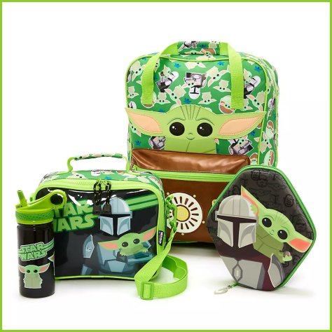 Disney Store Star Wars The Mandalorian Back to School Collection