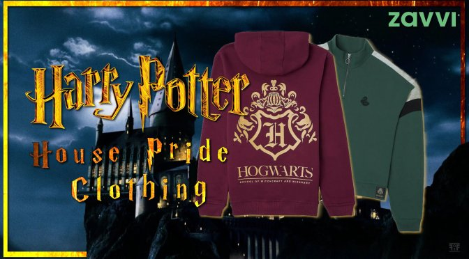 The Harry Potter House Pride Clothing From Zavvi