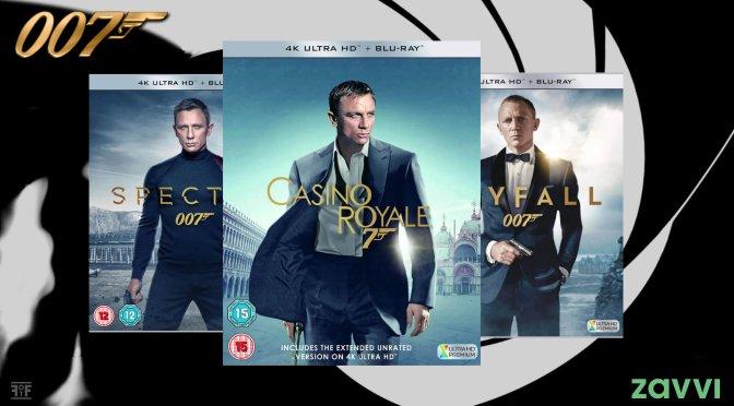 James Bond Fever Hits Zavvi: Daniel Craig 4K UHD 2 for £20