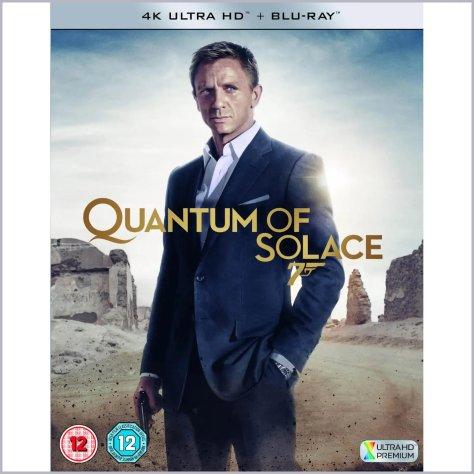 Quantum Of Solace James Bond 4K UHD