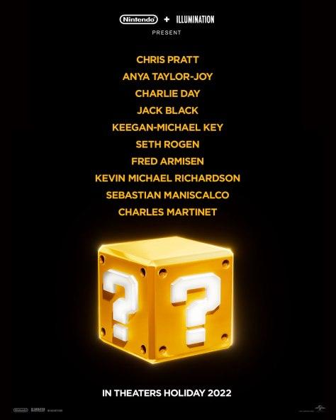 Super Mario Bros. 2022 Announcement Poster