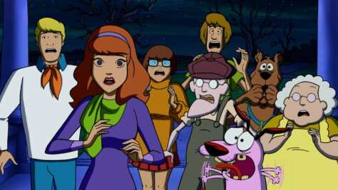 Scooby-Doo/ Courage The Cowardly Dog