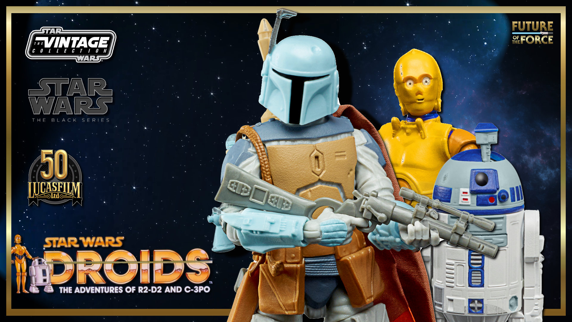 Hasbro Reveals New Lucasfilm 50th Anniversary Figures From Star Wars: Droids