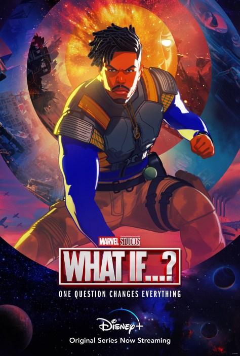 What If...? Killmonger Character Poster