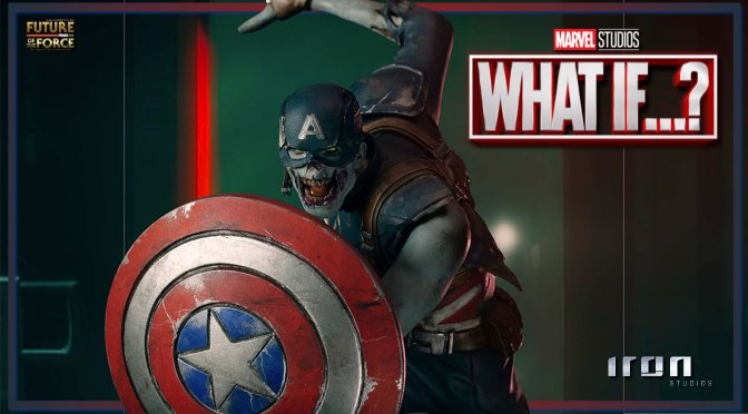 The What If…? Zombie Captain America Is Being Brought To Life By Iron Studios