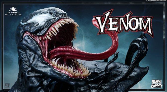 First Look: Marvel Comics Venom Life-Size Bust By Queen Studios