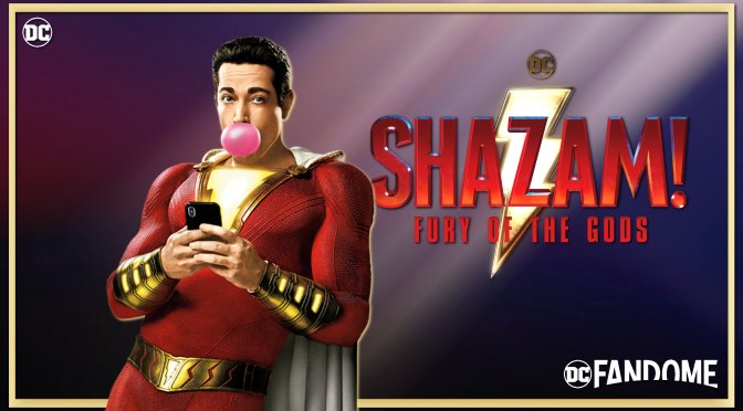 DC FanDome: First Look At Shazam! Fury Of The Gods