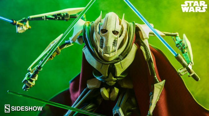 NEW Star Wars: Revenge Of The Sith General Grievous Statue From Sideshow