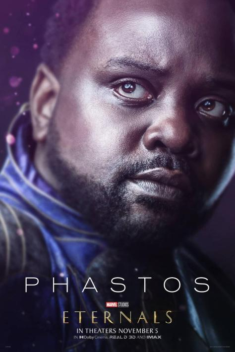 Eternals Character Poster Brian Tyree Henry as Phastos