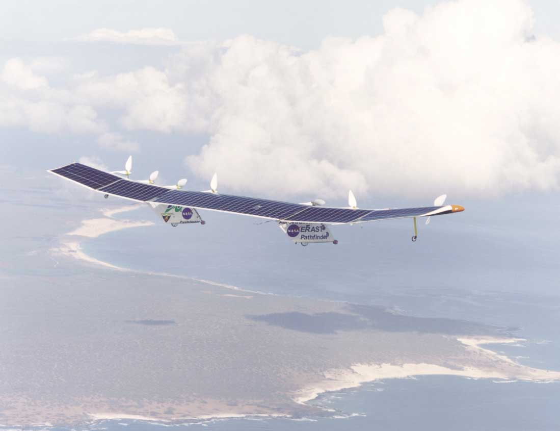 Solar UAV to set a new World Record  TFOT