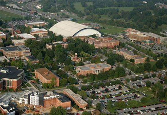 East Tennessee State University campus, home of the ETSU dietetic internship