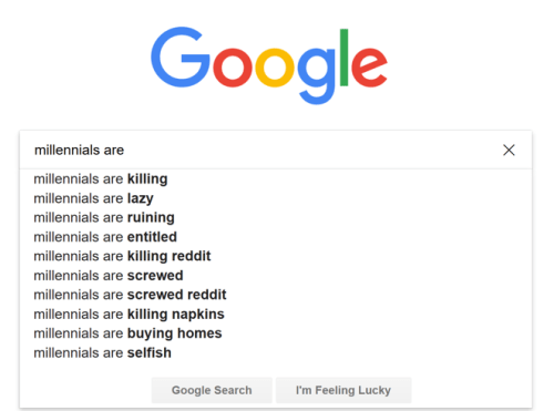 Millennials are
