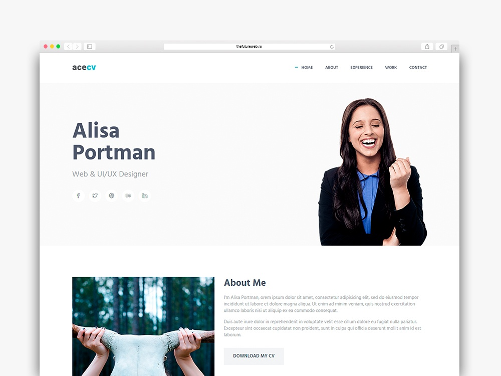 Acecv Frontend Freebie HTML and Bootstrap