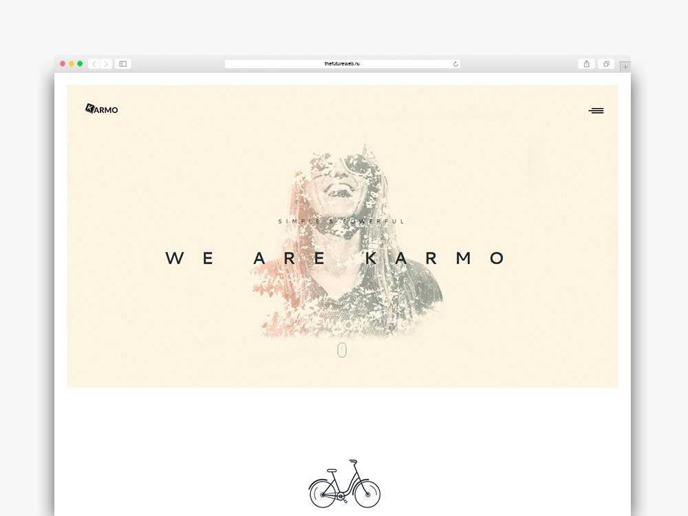 Karmo A free HTML templates for agencies and creatives
