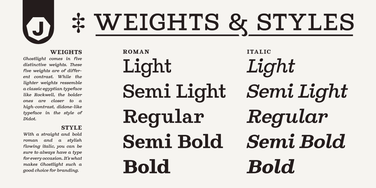Ghostlight бесплатный шрифт от Jeremie Dupuis