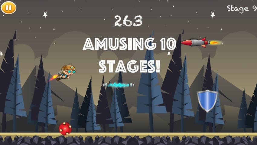 JetpackChallenge-iOS Game-SpriteKit, Swift2.1, iOS9+