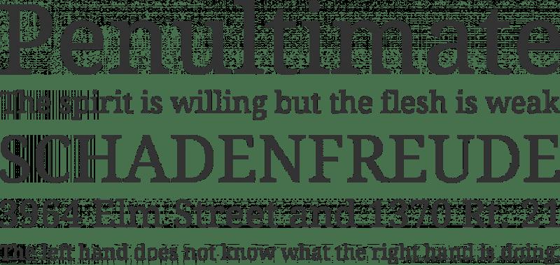 Droid Serif бесплатный шрифт от Steve Matteson