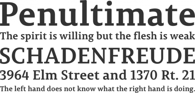 Permian Slab Serif бесплатный шрифт от IlyaRuderman