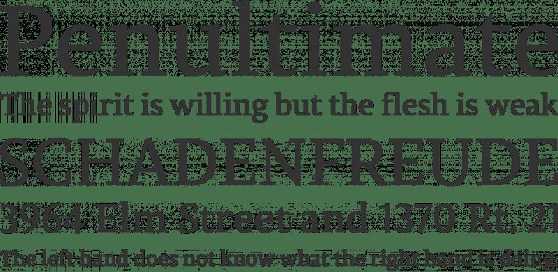 Permian Serif бесплатный шрифт от IlyaRuderman