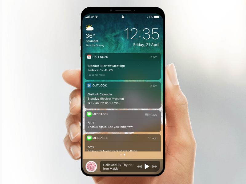 Халява для Sketch: Мокап iPhone 8