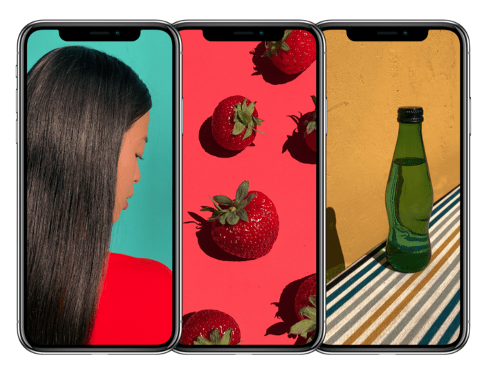 Iphone X Mockup Free for Photoshop