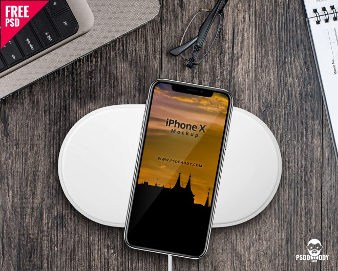 iPhone X Free Mockup PSD