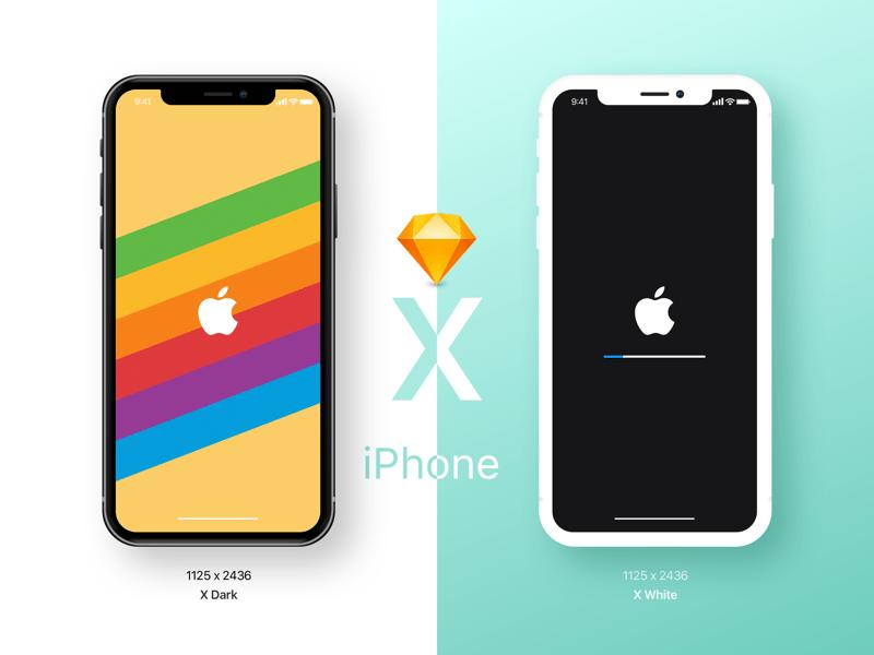 Халявный Mockup iPhone X для Sketch