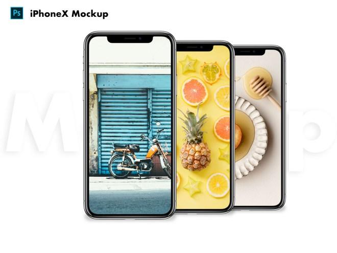 Халявный макет iPhone X в формате Photoshop
