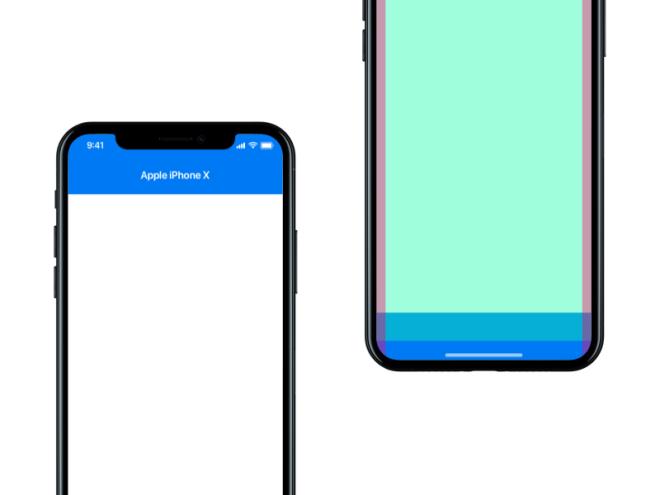 iPhone X - UI Template Freebie