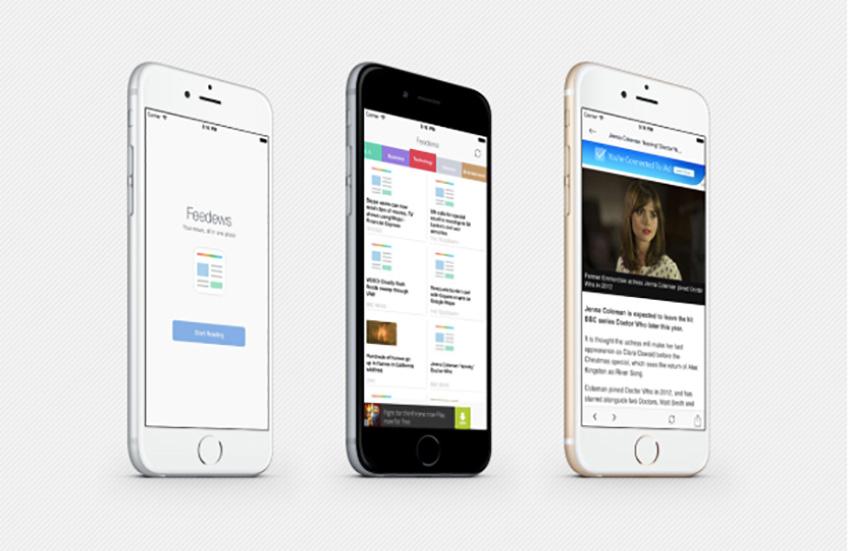 Feedews   iOS Universal News App Template (Swift)