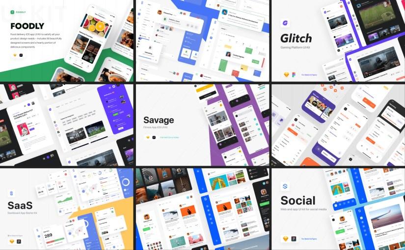 10 отборных UI Kit для Figma, чтобы проектировать эффективно в 2020 году
