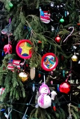 Children made ornaments