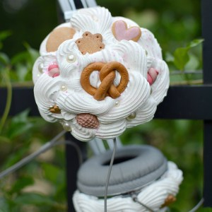 Custom Designed Kawaii Decoden Headphones