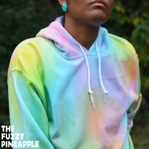 Color Wheel Rainbow Hoodie