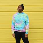 Pastel Rainbow Swirl Hoodie