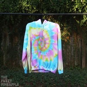 4XL Rainbow Swirl Hoodie RTS