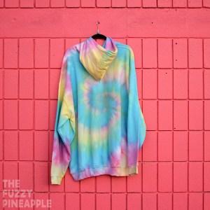 4xl – Rainbow Swirl Hoodie RTS