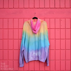 3XL Rainbow Stripe Hoodie RTS