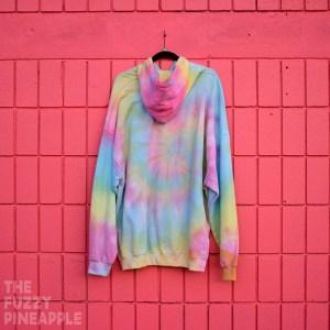 3xl – Rainbow Swirl Hoodie RTS