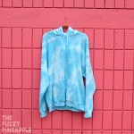 XL Splotch Hoodie in Blue Sky - RTS