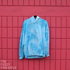 L Splotch Hoodie in Blue Sky – RTS