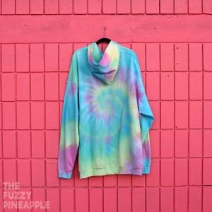 5xl – Rainbow Swirl Hoodie RTS