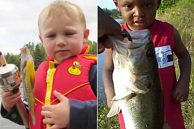 5 Cute Kids Catching Their First Fish [VIDEOS]