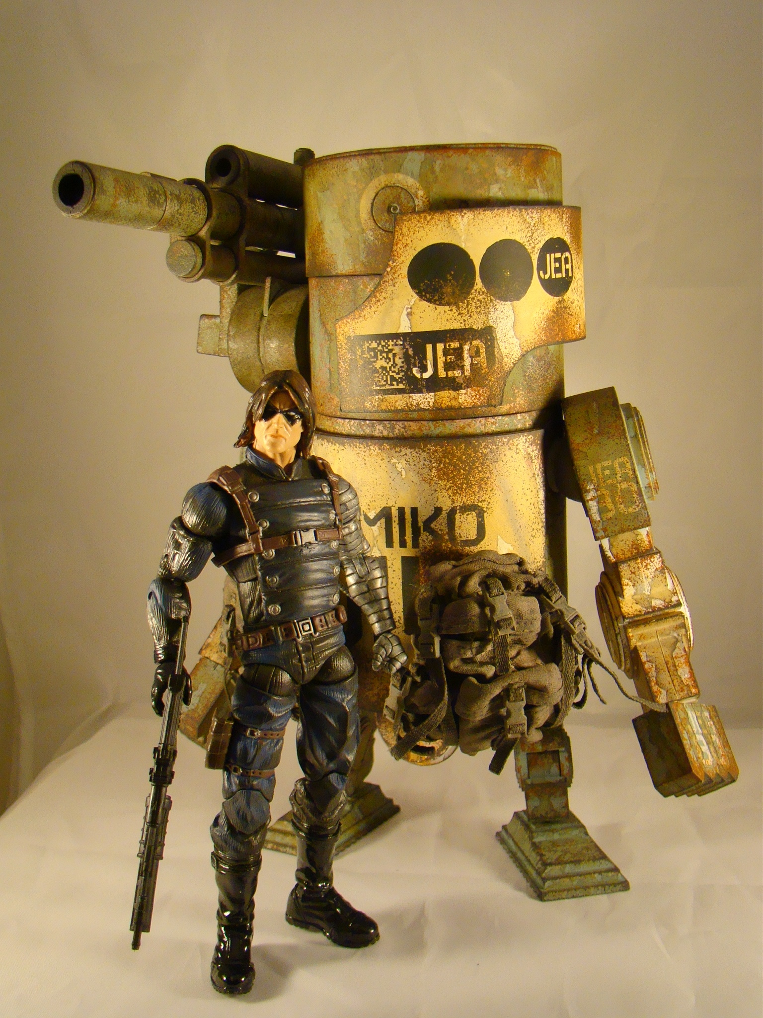 For any collector wanting a big ass killer robot to add to their 1/12 or 6″  action figure lines then I strongly recommend they hit the after market and  pick ...