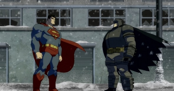 Resultado de imagem para dark knight rises superman and batman friendship