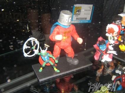 Toy Biz Throg and Forbush Man