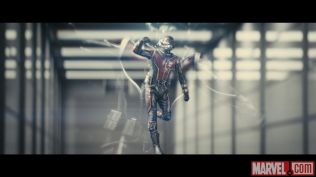 Photo of Ant-Man from the film's test footage